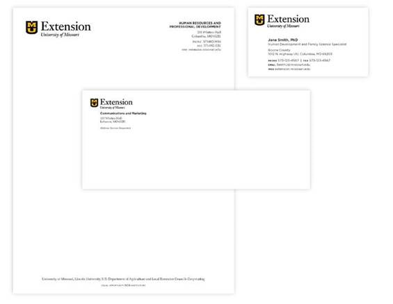 Mu print mail services stationery for 10x13 window envelope